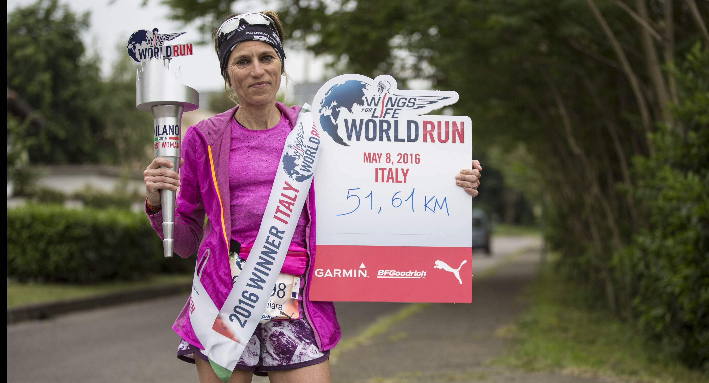 Katia Figini winner woman