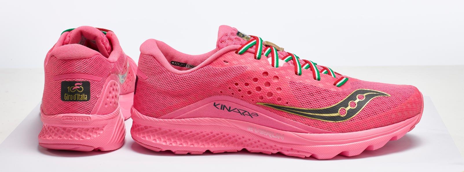 wyprzedaż sportowa odzież sportowa super tanie Saucony firma la prima scarpa per il Giro d'Italia - Running ...