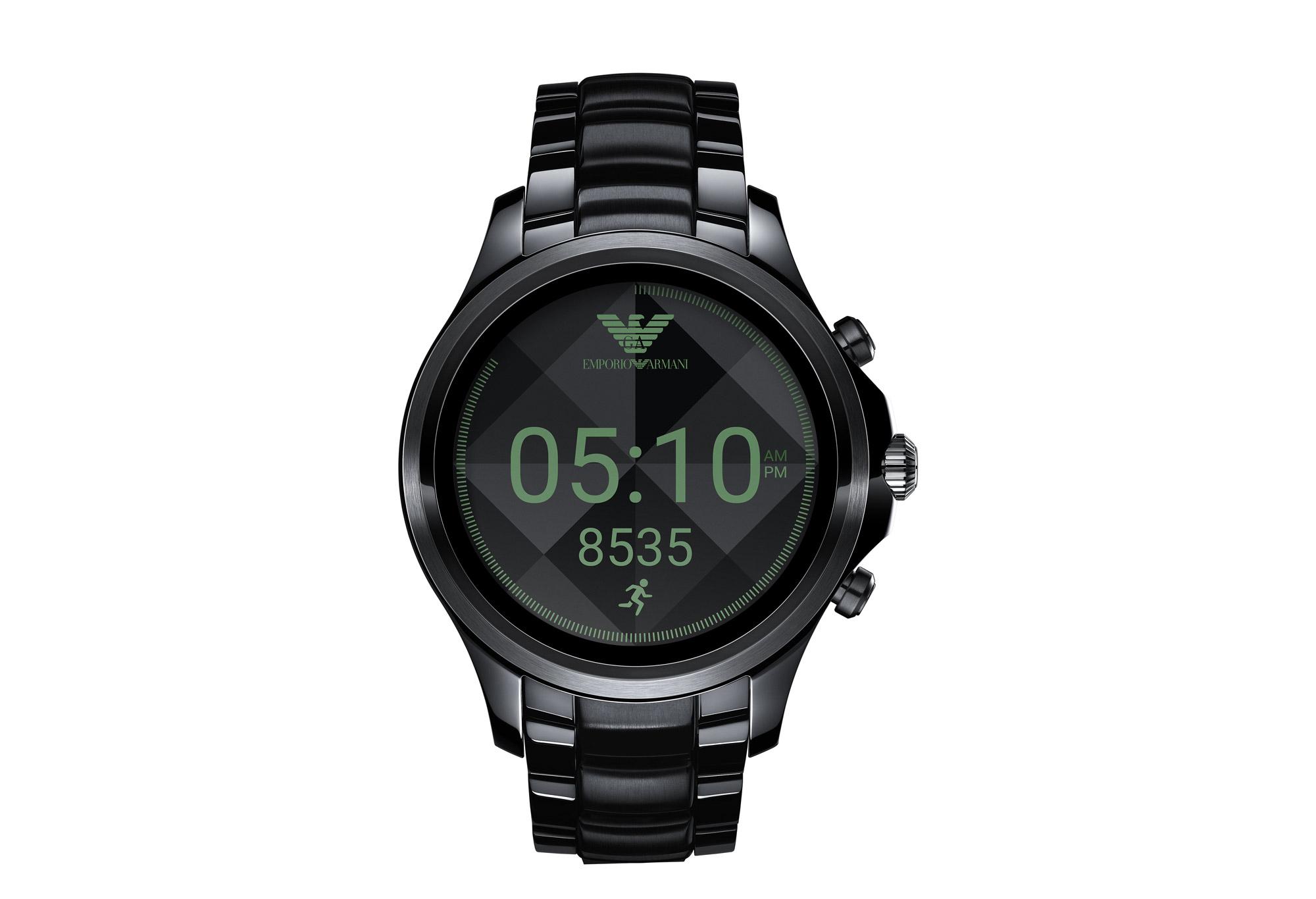 Anche Armani ora ha il suo smartwatch