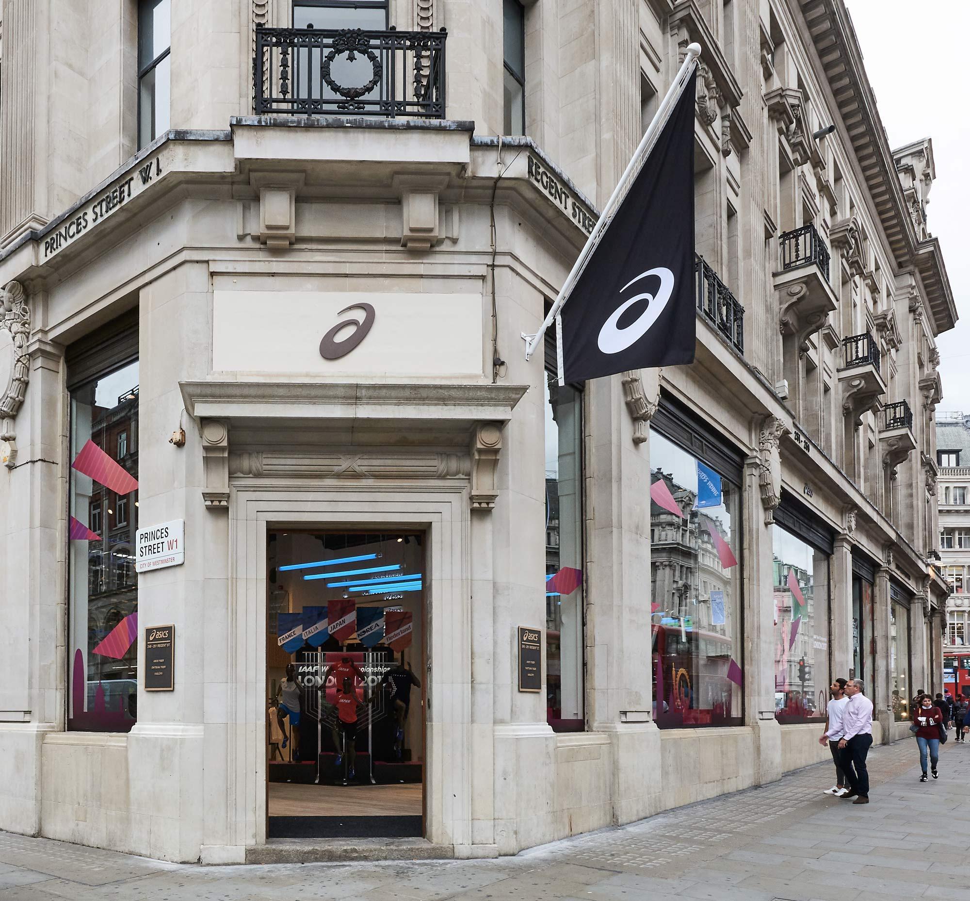 8f1de7f559 ASICS apre a Londra il suo più grande store - Running Magazine