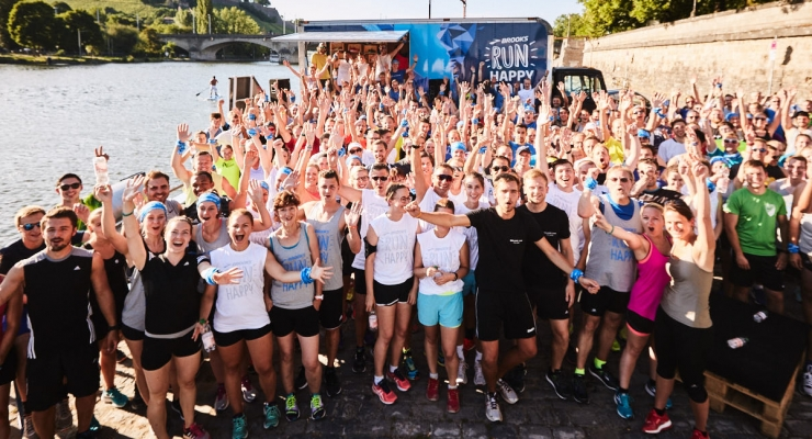 "Arriva in Italia il ""Run Happy Tour"""