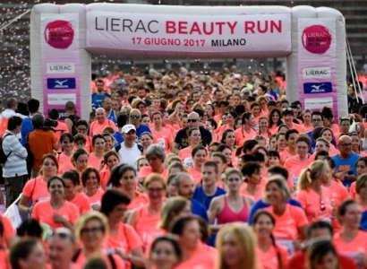 Lierac Beauty Run, una gara sempre più solidale