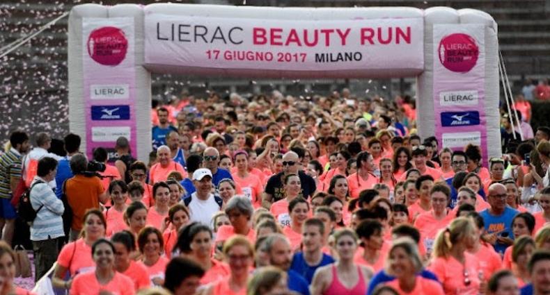 Lierac Beauty Run, una gara sempre più solidale