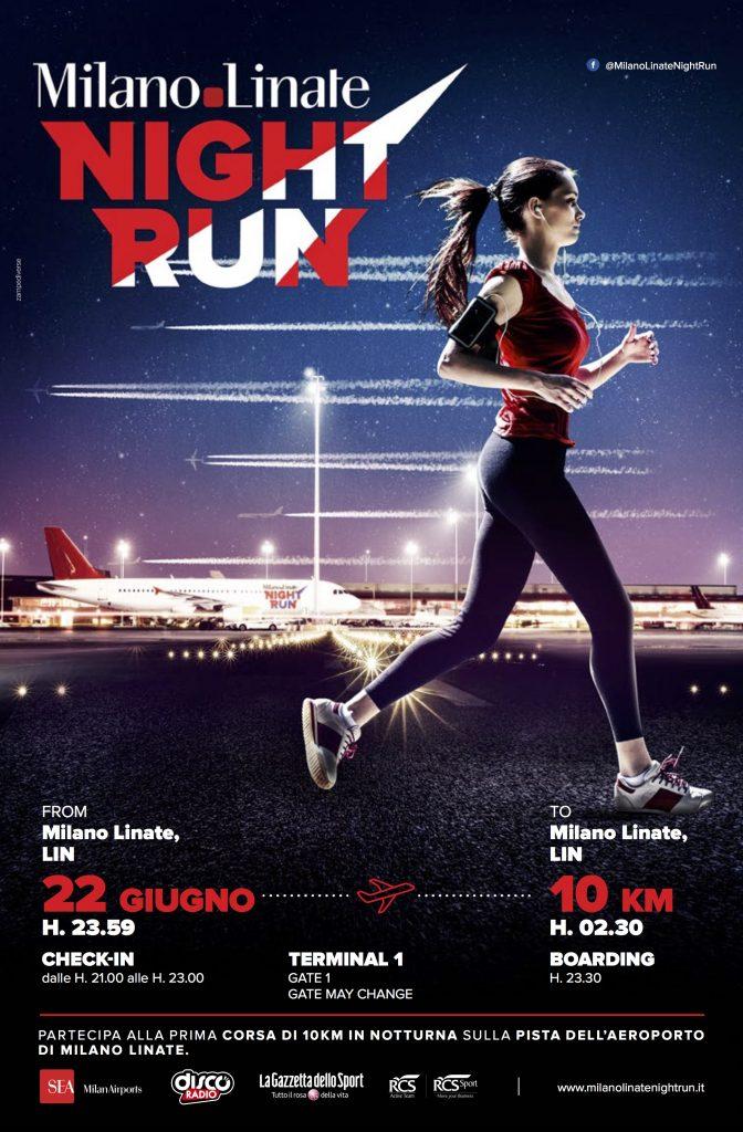 Sold out per la Milano Linate Night Run