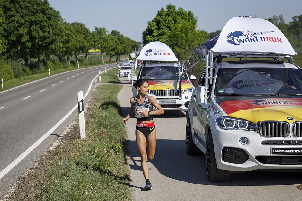 Wings For Life World Run: Aron Anderson vince ancora 2