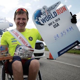 Wings For Life World Run: Aron Anderson vince ancora