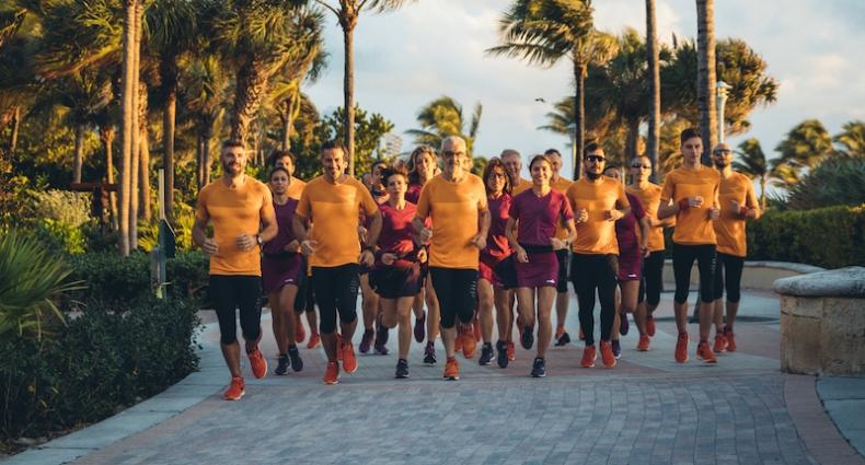 Diadora ha celebrato i suoi 70 anni a Pitti Uomo Running