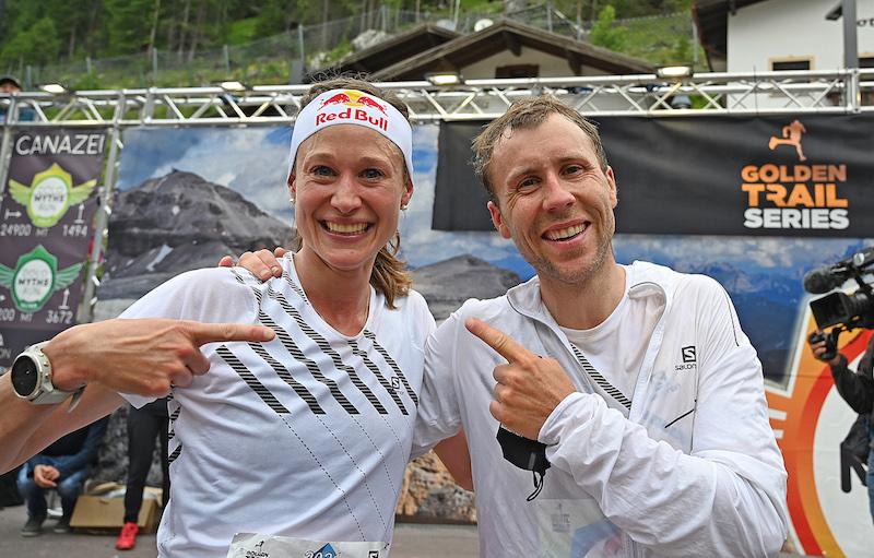 I vincitori Judith Wyder e Stian Angermund