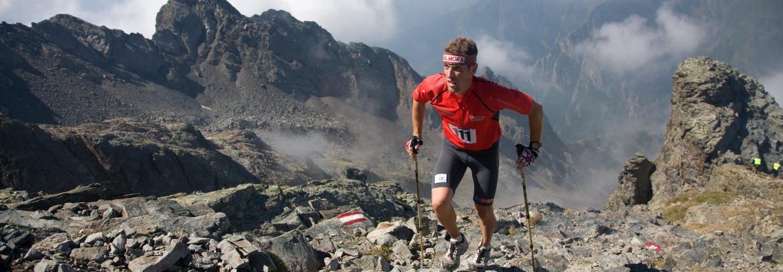 orobie skyraid anno 2007 - atleta nella zona del rif. Brunone - foto credit Quaranta